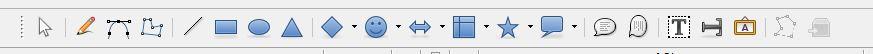 LibreOffice Calc 図形描画