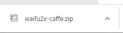 waifu2x-caffeダウンロード