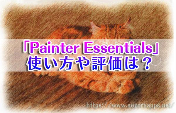 Painter Essentials01