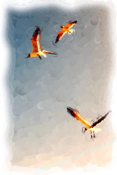 色鉛筆での描画11